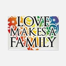 Love Makes A Family LGBT Magnets