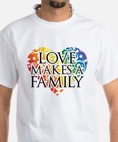Love Makes A Family LGBT T-Shirt