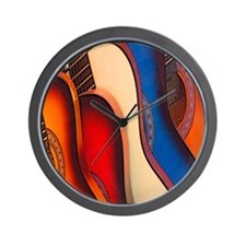 GUITARRAS Wall Clock