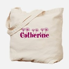 Purple Personalized Name Tote Bag