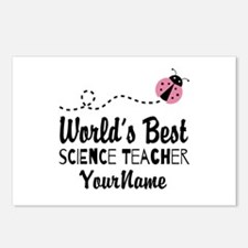 World's Best Science Teacher Postcards (Package of