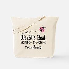 World's Best Science Teacher Tote Bag