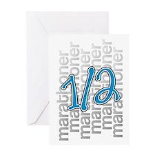 13.1 Half-Marathoner Greeting Card