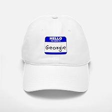 hello my name is georgie Baseball Baseball Cap