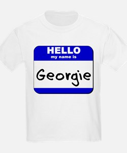 hello my name is georgie T-Shirt