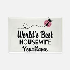 World's Best Housewife Rectangle Magnet