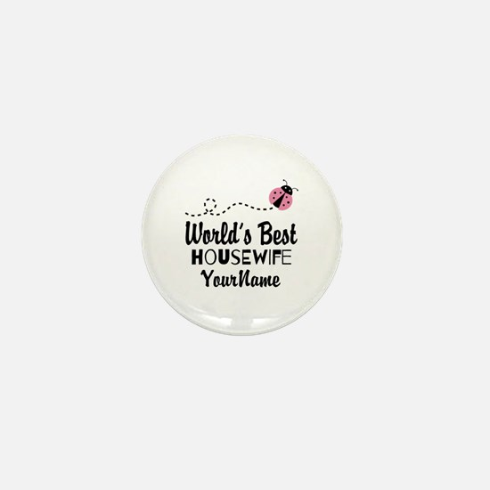 World's Best Housewife Mini Button