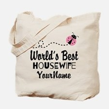 World's Best Housewife Tote Bag