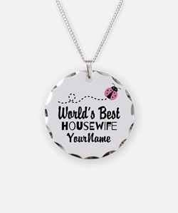 World's Best Housewife Necklace