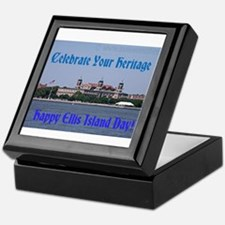 Ellis Island Day Keepsake Box