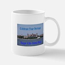 Ellis Island Day Mugs