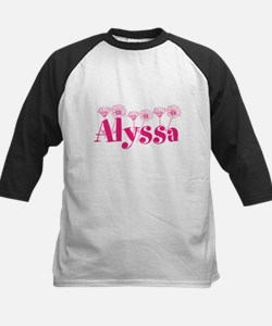 Pink Personalized Name Baseball Jersey
