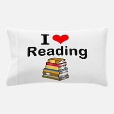 I Love Reading Pillow Case