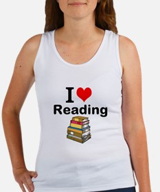 I Love Reading Tank Top