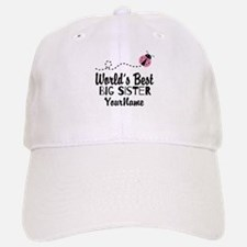 Worlds Best Big Sister - Personalized Cap