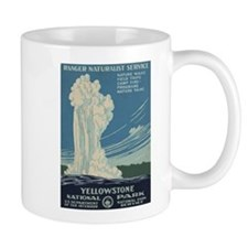 Yellowstone National Park Mug (Left-Handed)