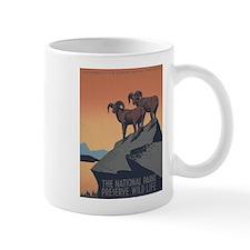 Preserve Wild Life Mug (Left-Handed)
