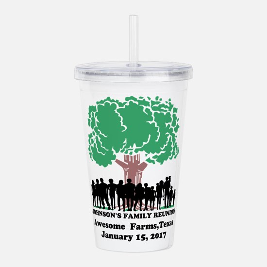 Reunion Personalized Acrylic Double-wall Tumbler