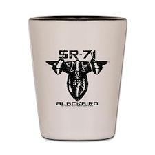 SR-71 Blackbird Shot Glass