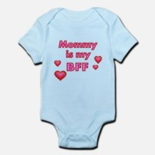 Mommy is my BFF with pretty hearts Body Suit