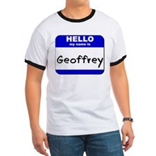 hello my name is geoffrey T
