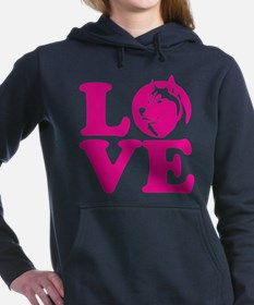 Love Husky Hooded Sweatshirt
