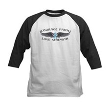Prostate Cancer Courage Wings Tee