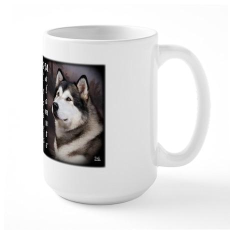 Alaskan Malamute Large Mug