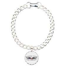 Oral Cancer Courage Wings Bracelet