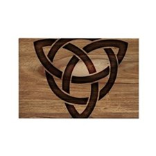 celtic knot Rectangle Magnet