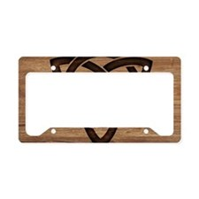 celtic knot License Plate Holder