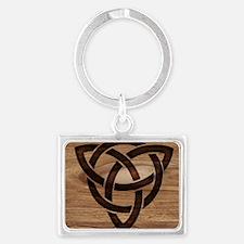celtic knot Landscape Keychain