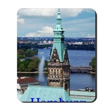 Hamburg Town Hall Mousepad