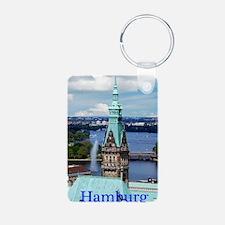 Hamburg Town Hall Keychains