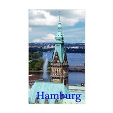 Hamburg Town Hall Decal