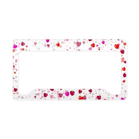 Heart044 License Plate Holder
