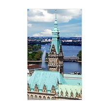 Hamburg Town Hall Decal