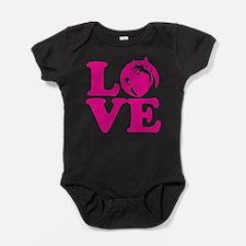 Love Husky Baby Bodysuit