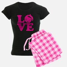 Love Husky Pajamas