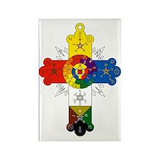 Rosicrucian Cross Rectangle Magnet