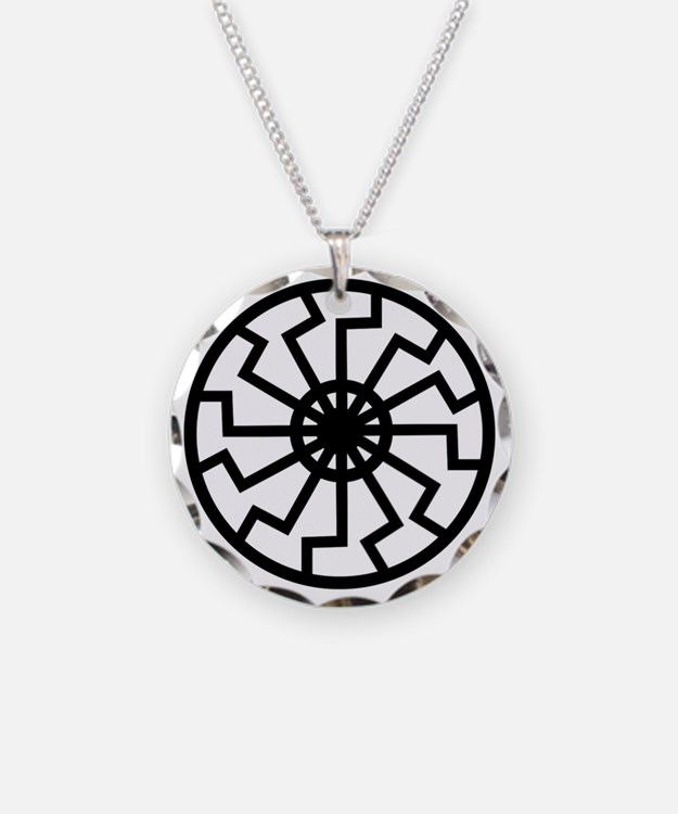 Black Sun Necklace