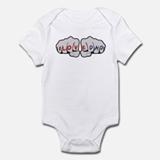 I Love Dad Knuckles Infant Bodysuit