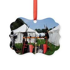 Medival Camp Ornament