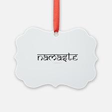 Namaste Yoga Ohm Ornament