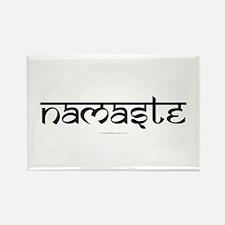 Namaste Yoga Ohm Rectangle Magnet