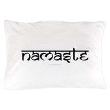 Namaste Yoga Ohm Pillow Case