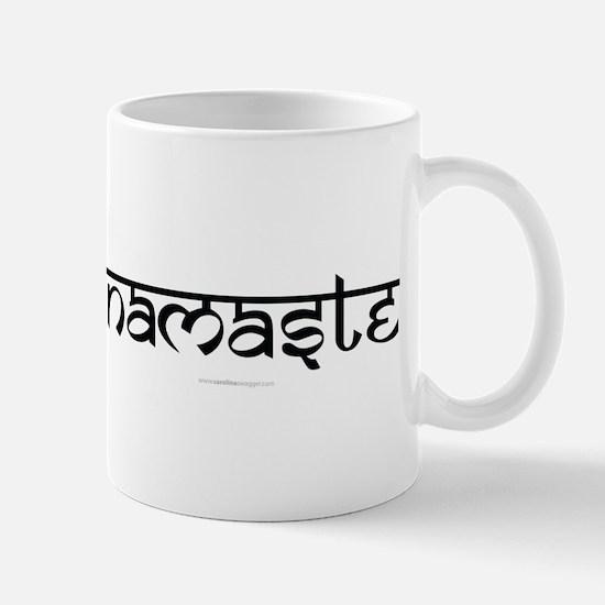 Namaste Yoga Ohm Mug