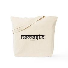 Namaste Yoga Ohm Tote Bag