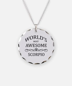 World's Most Awesome Scorpio Necklace