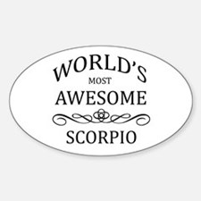 World's Most Awesome Scorpio Decal